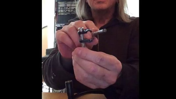 How to attach the mouthpiece to the hb1 Neck Set